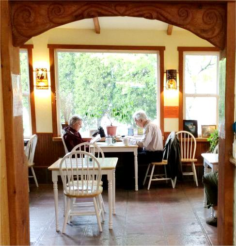 Our Garden Room--free wifi while you dine